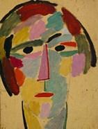 Mystic head: Anika, 1917