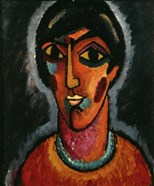 Byzantine Woman with Pale Lips, 1935