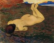 Woman Relaxing, 1899