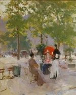 Open-air Parisian Cafe