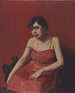 Romanian in a Red Dress, 1924