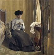 Woman Sewing, 1905