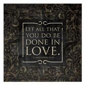 Done In Love - 1 Corinthians16:14