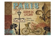 Paris Series Garden 1