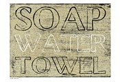 Soap Water Toewl