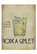 Vodka Gimlet