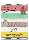 Little Girls And Cupcakes