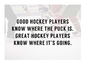 A Good Hockey Player