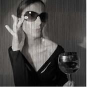 Loren With Wine