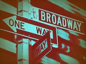 New York Broadway Sign