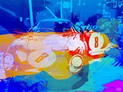 BMW Before Race Watercolor