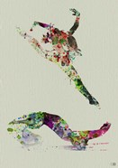 Ballet Watercolor 3A