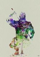 Ninja Watercolor 1