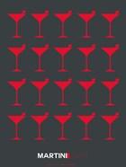 Martini Lover Red & Grey