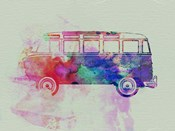 VW Bus Watercolor