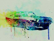 Ford Mustang Watercolor 2