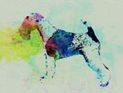 Fox Terrier Watercolor