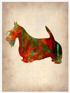 Scottish Terrier Watercolor 2