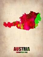 Austria Watercolor