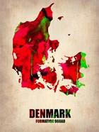 Denmark Watercolor