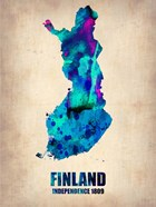 Finland Watercolor