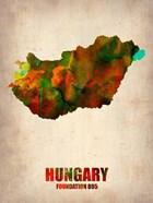 Hungary Watercolor