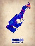Monaco Watercolor