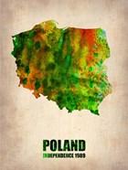 Poland Watercolor