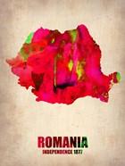 Romania Watercolor