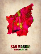 San Marino Watercolor
