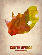 South Africa Watercolor