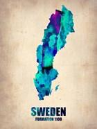 Sweden Watercolor