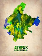 Athens Watercolor