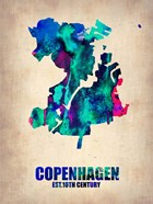 Copenhagen Watercolor
