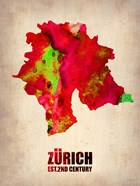 Zurich Watercolor