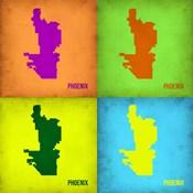 Phoenix Pop Art Map 1