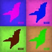 Miami Pop Art Map 1