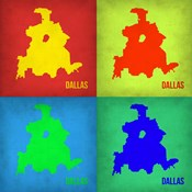 Dallas Pop Art Map 1