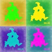 Dallas Pop Art Map 2