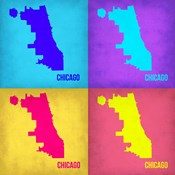 Chicago Pop Art Map 1