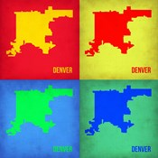 Denver DC Pop Art Map 1