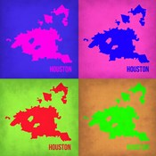 Houston Pop Art Map 1