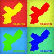 Philadelphia Pop Art Map 1