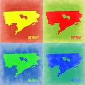 Detroit Pop Art Map 2