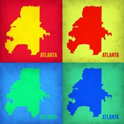 Atlanta Pop Art Map 1