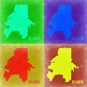 Atlanta Pop Art Map 2