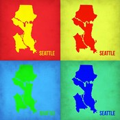 Seattle Pop Art Map 1