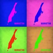 New York Pop Art Map 1