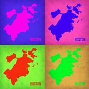 Boston Pop Art Map 1