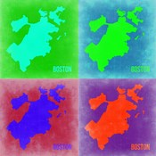 Boston Pop Art Map 2